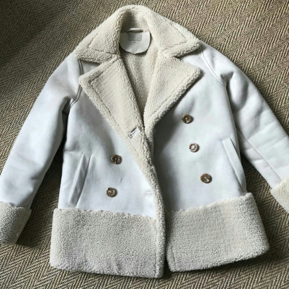 Mother Denim Shearling coat